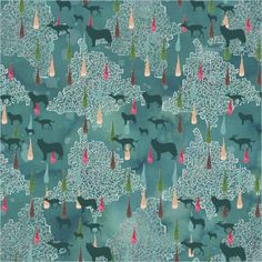 wolves. artist/design: Alicia Villodres