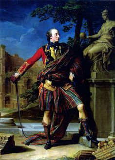Pompeo Batoni, Colonel William Gordon, 1765. Fyvie Castle, Aberdeenshire by renzodionigi, via Flickr