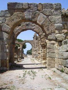 Gimnasium, Tindari, Sicily.