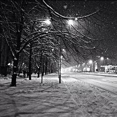 Skopje in winter