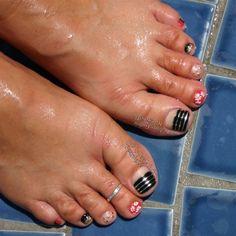Poolside Summer Pedicure