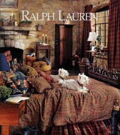 Ralph Lauren has great taste...he uses Westies in his ads   m