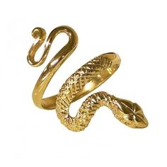 """SNAKE"" solid gold ring (3.825 RON) ❤ liked on Polyvore featuring jewelry, rings, gold jewellery, yellow gold jewelry, gold snake jewelry, yellow gold rings and gold snake ring"