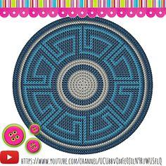 Risultati immagini per crochet pattern wayuu bag Crochet Gratis, Crochet Chart, Diy Crochet, Tapestry Crochet Patterns, Crochet Stitches Patterns, Stitch Patterns, Mochila Tutorial, Mochila Crochet, Diy Sac