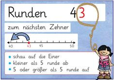 Passend zu den anderen Merkplakaten aus dem Bereich der Mathematik hier nun zwei… Matching to the other memo posters from the field of mathematics here are now two posters on the subject of rounds: To be found at the Math 2, Kindergarten Math, Math Games, Teaching Math, Primary Education, Primary School, Science Books, Life Science, Science Quotes