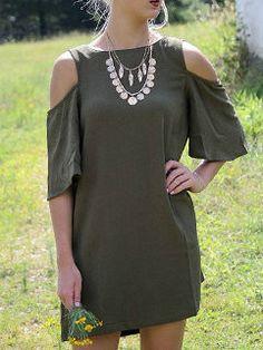 Fashion T-Shirt Design Women Short Sleeve Off Shoulders Mini Dresses
