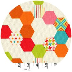 Patty Young, Textured Basics, Hexies Multi