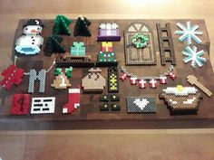 Christmas is an excellent time to produce totally free crafts from objects which are already in your dwelling. Christmas brings with lots of of fun and enjoyment. Christmas connects us to a great deal of things. Perler Bead Designs, Diy Perler Beads, Pearler Beads, Fuse Beads, Melty Bead Patterns, Hama Beads Patterns, Beading Patterns, Bead Crafts, Diy And Crafts