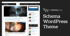 Schema is the fastest loading, ultra-SEO friendly WordPress theme that features rich snippets in order to help search engines identify all parts of your site and rank you higher.
