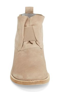 Eileen Fisher 'Soul' Gathered Leather Bootie (Women) (Online Only) | Nordstrom