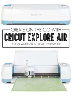 Create On The Go With Cricut Explore Air via thecraftedsparrow.com