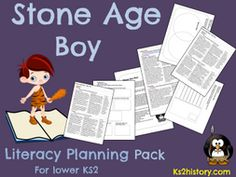 Stone Age Boy Literacy Planning by KS2History - Teaching Resources - TES