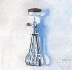 Whisk in Repose   -  Jules Watson @ Juju & Bubba Art & Illustration