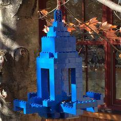 Lego Bird feeder created a a student in my Lego Club. #lego #legobuild #moc #legobricks