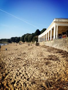 Beautiful day in Wales holiday Barry Island