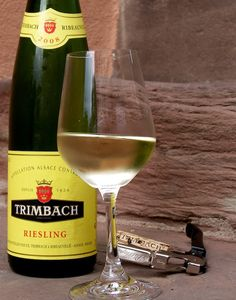Trimbach #Riesling #Alsace Very nice dry Riesling. Recommended when we were at Annie Gunns