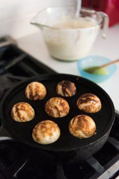 Aebleskiver   Danish Pancakes - House of Nash Eats Danish Pancakes, Mini Pancakes, Ebelskiver Recipe, Danish Dessert, The Pancake House, Hazelnut Cake, Easy Cooking, The Fresh, Gourmet Recipes