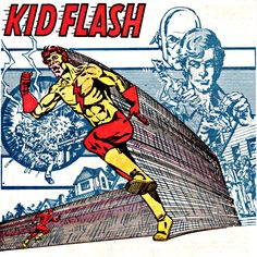 THE FLASH Kid Flash PICTURES PHOTOS and IMAGES