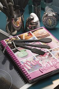 Creative Company   Scrap That Too: Magazine recipe book Magazine Recipe, Creative Company, Craft Projects, Scrapbook, Crafts, Manualidades, Handmade Crafts, Arts And Crafts, Scrapbooks