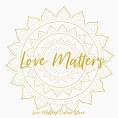 Love Matters is unique, stylish & comfortable fashion with heart & soul. Every design is hand crafted and carries it's unique energies & purpose. The mantras bring you joy, abundance, love and connect you with the divine. They are perfect for yoga, meditation or homewear; but they add their magic to any outfit. Love Matters - because love matters by Linda Martinez ♡ I Am Unique, Love Matters, Pure Joy, Comfortable Fashion, Abundance, Yoga Meditation, Connect, Purpose, Gold