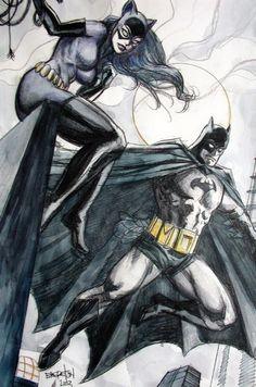 Batman and Catwoman •Dan Brereton