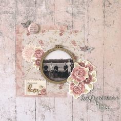 All About Scrapbooks Australia: PS I Love You Layout by Rachel Lowe: