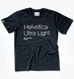 Helvetica ultra light