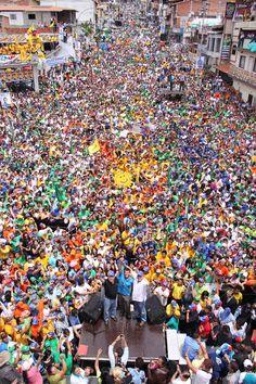 En imágenes: Táchira acompañó a Henrique Capriles en un nuevo recorrido