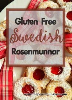 gluten free swedish rosenmunnar