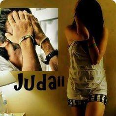 Khushiyo Ki Zindgi Kuch Pal Me Bit jati hai,  Na Jane kyu Duriyan Aa jati hai,   Nahi Chahte hai jisse Juda hona,  Waqt ki Aandhi usi se Dur le Jaati hai...