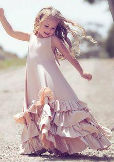 One Good Thread - Dollcake Oh So Girly - Dollhouse Pink Long Wedding Frock Dress   One Good Thread, $80.00 http://www.onegoodthread.com/