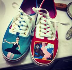 MBDTF Kanye West Vans by Creativityism.deviantart.com on @deviantART