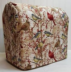 Birds Berries Kitchenaid Lift Bowl Stand Mixer Cover ALL BIRDS BERRIES >>> For more information, visit image link-affiliate link. Kitchenaid Cover, Kitchenaid Stand Mixer, Head Stand, All Birds, Appliance Parts, Needful Things, Canvas Fabric, Berries, Outdoor Blanket