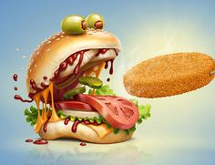 """Check out this @Behance project: """"Frighteningly Tasty"""" https://www.behance.net/gallery/45497567/Frighteningly-Tasty"""