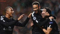 Gol logo aos aos 18 minutos de jogo | Neymar marca pela primeira vez na Liga com a camisa do PSG