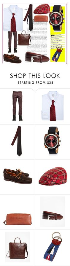 """""""fashion for your"""" by denisee-denisee ❤ liked on Polyvore featuring Pierre Balmain, Brooks Brothers, Versace, Briston and vintage"""