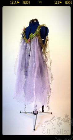 The Elf Tailor ~ Lilac, Low-Back Fairy Dress ~ Part of the Woodland Nymphs Costume Commission for New York Photographer Marque DeWinter