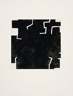 Eduardo Chillida (1924-2002) Zeihartu I, 1973. Etching and aquatint. Plate size: 39.7cm H x 39.7cm W. Sheet size: 79.1cm H x 60.1cm W. Edition of 64 copies.