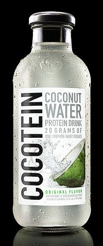 Cocotein Coconut Water Protein Drink No added sugars No more 50 calories No more than two servings bc of calories In morning evening and after workout are ideas Increases energy Decreases bp Helps rebuild lean muscle