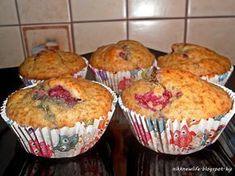 Málnás teljes kiörlésű, cukormentes muffin