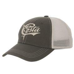 c2d6aa27332a Costa Del Mar Adults' Retro Trucker Hat Fishing Outfits, Fishing Apparel, Costa  Del
