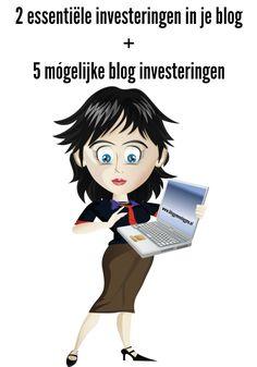 Bloggen kun je prima gratis doen. Op een gratis platform als Blogger. Maar als je geld wilt verdienen met je blog, of het serieuswilt aanpakken zijn er 2belangrijke investeringen. En maak je geen zorgen: de kosten vallen nog steeds mee. 1. Investeer in je eigen domeinnaam Een adres dat eindigt op blogspot.com of wordpress.com oogt …