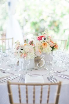 Lucite and White Table Number | Private Residence in Naples, Florida | Isn't She Lovely Florals | Table 6 Productions https://www.theknot.com/marketplace/table-6-productions-serving-fl-west-coast-fl-258075 | Hunter Ryan Photo https://www.theknot.com/marketplace/hunter-ryan-photo-fort-myers-fl-603955 |