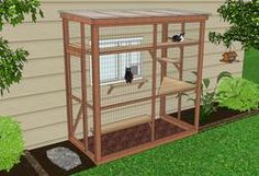DIY Catio Plan - HAVEN 4x8 catio by Catio Spaces
