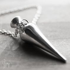 Bottle necklace  Amphora in polished sterling by idreamicanfly, $315.00