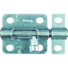 National Hardware V834 Barrel Bolt, 4-Inch, Galvanized by National Hardware. $7.30. From the Manufacturer                Whether for home, farm, builder or industrial customers, National has all the right hardware in the sizes and finishes you need. With over a century of service National is committed to maintaining the highest level of product quality, innovation and manufacturing technology. Providing a reliable barrier against unauthorized entries. Barrel bol...