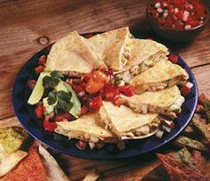 Chicken of the Seas Salmon con Queso Quesadillas Recipe
