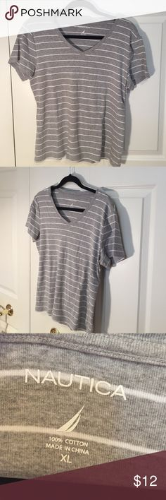 Top Nautica t shirt. Perfect condition! Check out my $5 holiday sale! Nautica Tops