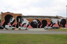 Sam3 - New Mural @ Girona, Spain (2014)