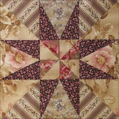 Civil War Quilts: Threads of Memory 10: Britain's Star for Charlotte Henson by Becky Brown
